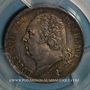 Coins Louis XVIII (1815-1824). 2 francs 1824A