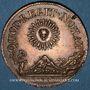 Coins Affinages de Lyon. Jeton cuivre 1744