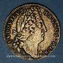 Coins Belgique. Louis XIV (1643-1715). Victoire de Saneffe sur Triple Alliance. Jeton laiton n. d.