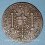 Coins Besançon. Co-gouverneurs. Claude François Buson, seigneur d'Auxon, de Pontain... Jeton cuivre 1666
