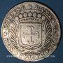 Coins Bourgogne. Honoré de Cherriers. C. des Mauris et son épouse Claude Damas. Jeton argent