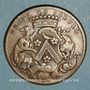 Coins Bourgogne. Mairie de Dijon. Claude Marlot. Jeton cuivre 1751
