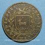 Coins Bourgogne. Mairie de Dijon. Jean de Frasans. Jeton cuivre 1603