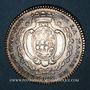 Coins Bretagne. Mairie de Nantes. Gelée de Premion. Jeton argent 1754