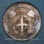 Coins Champagne. Chalons-sur-Marne. Louis XV. Jeton argent
