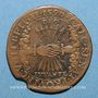 Coins Flandre. Philippe II (1555-1598). Jeton cuivre 1590