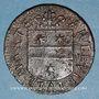 Coins Franche-Comté - Besançon. Co-gouverneurs. François Brocard, seigneur de Lavernay. Jeton cuivre 1667