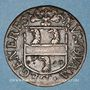 Coins Franche-Comté-Besançon. Co-gouverneurs - Jean-Claude Cabet, seigneur de Geneville. Jeton cuivre 1665