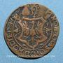 Coins Franche-Comté. Louis de Rye de Balançon, abbé de Saint-Claude, évêque de Genève. Jeton cuivre 1547