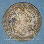 Coins Henri II (1547-1559). Jeton cuivre n. d.