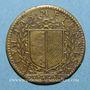 Coins Lorraine. Metz. Henri IV. Jeton cuivre 1608