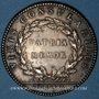 Coins Lyon. Ex-consuls. Jeton argent 1756