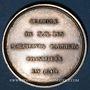Coins Mines. Paris. Chambre des marchands carriers. Jeton argent 1840 (frappé en 1846)