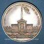 Coins Mines. Saint-Etienne. Mines de la Loire. Jeton en argent 1844