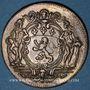 Coins Municipalité de Lyon. C. Perrichon. Jeton cuivre 1735