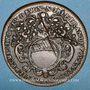 Coins Municipalité de Lyon. Fr. Dufournel. Jeton cuivre