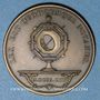 Coins Notaires. Saint-Etienne. Jeton bronze. Poinçon : corne d'abondance