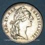 Coins Paris. Assemblée du Clergé de France. Louis XV. Jeton argent 1755