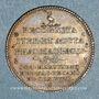 Coins Paris. Faculté de Médecine. J. Martinencq, 1746-1747-1748. Jeton cuivre
