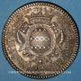 Coins Paris. Louis Bazile de Bernage, prévôt des marchands. Jeton argent 1746