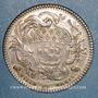 Coins Paris. Louis Bazile de Bernage, prévôt des marchands. Jeton argent 1754