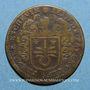 Coins Paris. Prévôts des marchands. A. de Seve. Jeton cuivre 1659