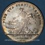 Coins Payeurs des rentes. Louis XV. Jeton argent 1717