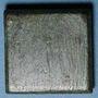 Coins Byzance. Poids monétaire de 1 once. 5e-7e siècle