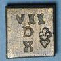 Coins Charles IX (1560-1574). Poids monétaire du demi-teston