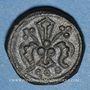 Coins Espagne. Aragon. Poids monétaire du florin catalan. Fabrication française XIVe siècle