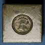 Coins Espagne. Poids monétaire de 8 réaux de Ferdinand et Isabelle (1474-1504)