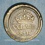 Coins Espagne. Poids monétaire de 8 réaux Philippe IV (1621-1665)
