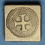 Coins Espagne. Poids monétaire de la double pistole de Charles Quint au milieu du XVIIIe