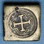 Coins Espagne. Poids monétaire de la pistole de Charles Quint au milieu du XVIIIe