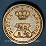Coins Espagne. Poids monétaire du 8 escudos. Fabrication italienne
