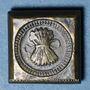 Coins Espagne. Poids monétaire du double réal de Ferdinand et Isabelle (1474-1504)