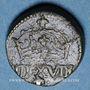 Coins Henri III (1574-1589) à Louis XIV (1643-1715). Poids monétaire du huitième d'écu
