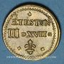 Coins Henri III (1574-1589). Poids monétaire du demi-teston