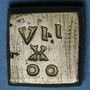 Coins Henri IV (1589-1610). Poids monétaire du quart d'écu, 5e type