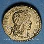 Coins Louis XIII (1610-1643). Poids monétaire du quart de franc
