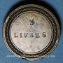 Coins Louis XV (1715-1774) et Louis XVI (1774-1793). Poids monétaire du demi-écu aux lauriers