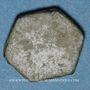 Coins Poids monétaire de deux deniers (14e - 16e siècle)