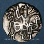 Coins Afghanistan. Les Sahides. Samanta Deva (vers 850-1000). Jital. Ohind