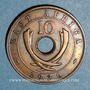 Coins Afrique de l'Est. Colonies britanniques. Edouard VIII (1936). 10 cents 1936