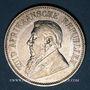 Coins Afrique du Sud. République. 2 1/2 shilling 1896
