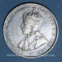 Coins Afrique Occidentale britannique. Georges V (1910-1936). Shilling 1913