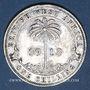 Coins Afrique Occidentale britannique. Georges V (1910-1936). Shilling 1913
