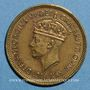 Coins Afrique Occidentale britannique. Georges VI (1936-1952). 1 shilling 1951H. Heaton