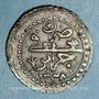 Coins Algérie. Ottomans. Mahmoud II (1223-1255H). 5 aspres 1238H. Alger