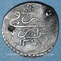Coins Algérie. Sélim III (1203-1222H = 1789-1807). 1/4 boudjou 1208H (= 1793)